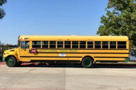 cng school bus rent